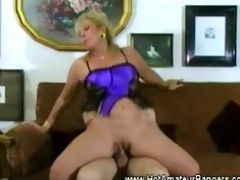 aged non-professional wife drilled balls deep