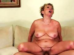 hawt granny enjoying naughty sex