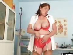 breasty dilettante grandma spunk flow sex tool