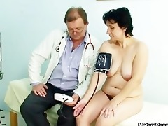 naughty housewife getting concupiscent getting