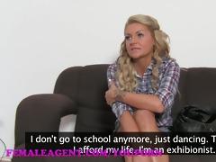 femaleagent hd reality tv honey tries porn