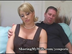 wife loses control with fresh wang