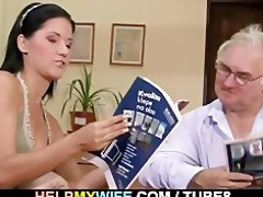 hubby calls lad to fuck his wife