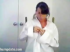 breasty mother i stripping and teasing
