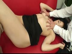 miho wakabayashi creampied in a three-some