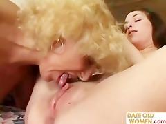 grandmother fucking youthful girl
