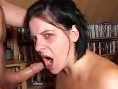 bizarre deepthroat9 gag by german wife!!!!!