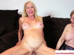 erica lauren and nina hartley share knob