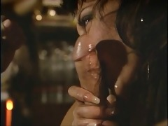 chap with glasses teases mature brunette&s