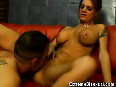 breasty pornstar kayla ambisextrous male