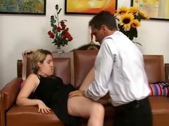 sexy mother i pair copulates in porno casting - 4