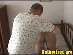 nylon wife dilettante nylons fuck