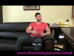femaleagent massive ejaculation across charming