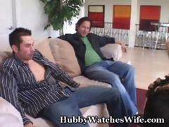 tasty wifey group-fucked by youthful guy