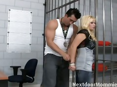 blond d like to fuck fuck a hard penis in jail