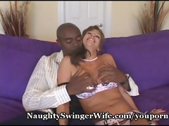 massive dark cock stuffs my lustful wife