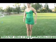 mila lovely brunette hair dilettante undressing