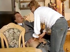 naughty housewife receives