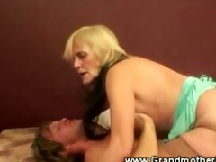 hot grandmother creampied