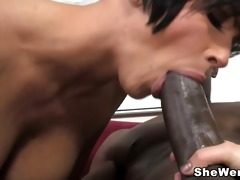 large tit mom and daughter fuck a dark stud with
