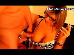 jerk jizz flow on blondes wifes tits on livecam