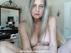 hawt granny with marital-device sex toys -