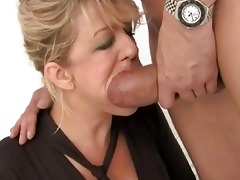 priceless looking breasty wife got double drilled