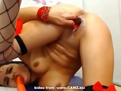 hawt 100 year old latin chick doxy teasing on