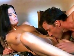 darksome haired mother i in red hawt underware
