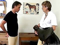 older british female-dominator and her ponyboy.
