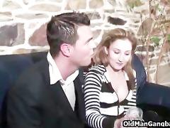 granddad spies on anal sex lovers