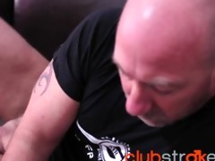 tattood blake has some other jack off session on