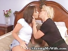 cougar recruits honey to share with hubby
