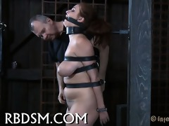 forcing nice-looking beauty to surrender