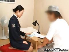 oriental girl has fucking and engulfing