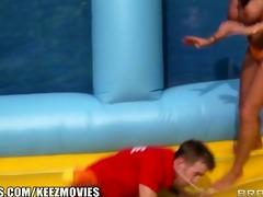 brazzers - ava koxxx - exposed volleyball!