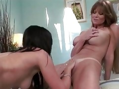 enormous chested lesbo momma licking playgirl pot