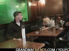 sexy threesome with wicked granny
