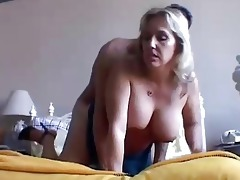 nice-looking busty mature chick boned and blasted